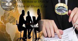 Bảng giá dịch vụ thám tử tư tại TPHCM Sài Gòn, công ty thám tử TPHCM Sài Gòn