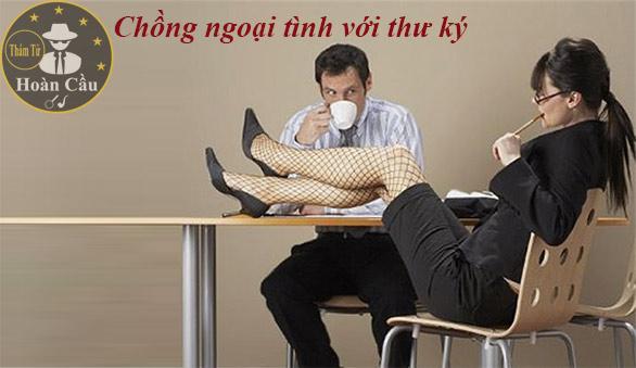 Vợ sốc và choáng váng khi bắt gặp chồng ngoại tình với thư ký