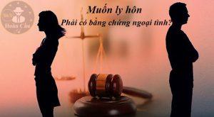 Phải có bằng chứng ngoại tình mới được đơn phương ly hôn?