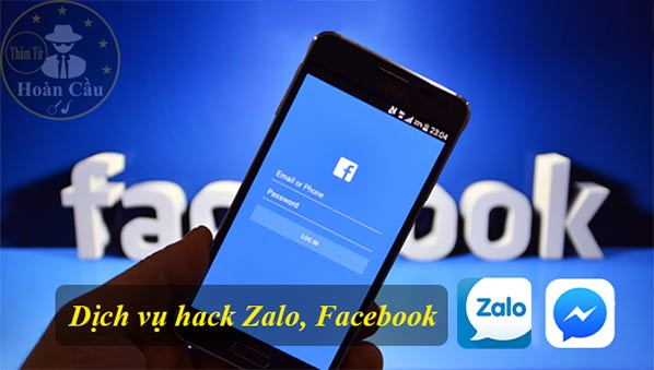 Dịch vụ hack Zalo, Facebook, Gmail, Viber
