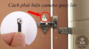 Cách phát hiện camera quay lén trong khách sạn bằng điện thoại