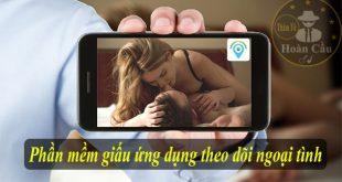 Sử dụng phần mềm giấu ứng dụng để theo dõi vợ ngoại tình