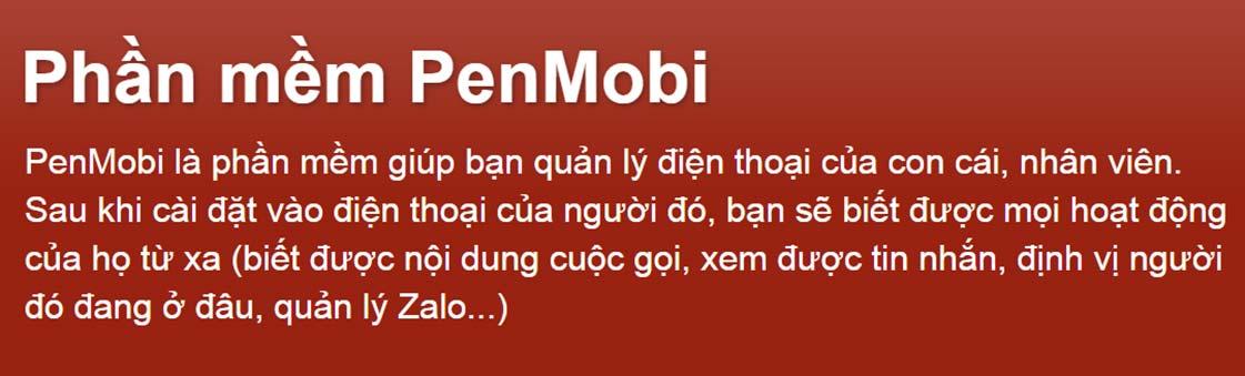 Phần mềm penmobi là gì? cài đặt có mất phí không