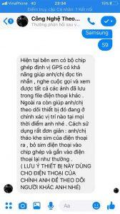Dịch vụ đọc trộm tin nhắn Zalo Facebook lừa đảo