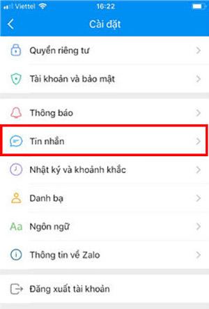 Cách khôi phục lấy lại tin nhắn zalo khi đổi điện thoại iPhone