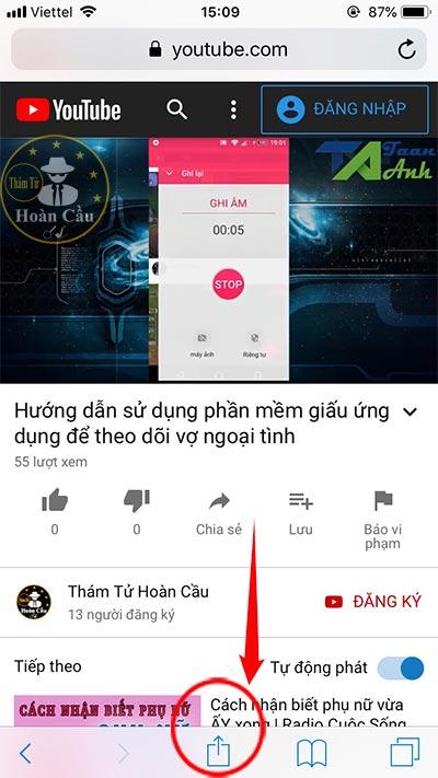 Cách nghe nhạc Youtube khi tắt màn hình iphone, android