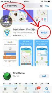 Hướng dẫn sử phần mềm ứng dụng TrackView chi tiết nhất