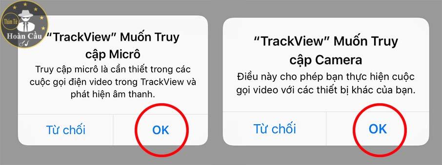 Hướng dẫn cài và sử dụng TrackView cho Android và ios iphone