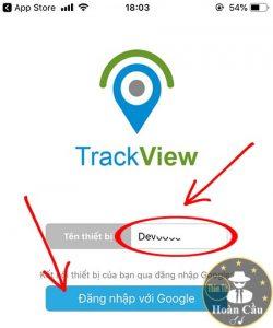 Hướng dẫn sử phần mềm ứng dụng TrackView