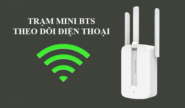 Trạm BTS mini theo dõi điện thoại 3 dâu