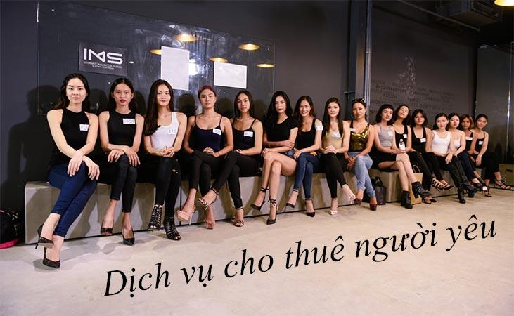 Dịch vụ cho thuê người yêu tại TPHCM, Hà Nội, Đà Nẵng, Cần Thơ