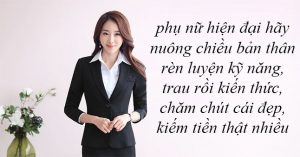 Phụ nữ hiện đại không ngại kiếm tiền, hãy kiếm thật nhiều tiền