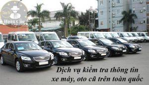 Dịch vụ kiểm tra xe máy oto cũ TPHCM Hà Nội Sài Gòn toàn quốc