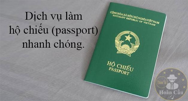 Dịch vụ làm passport hộ chiếu nhanh tại TPHCM cho người ngoại tỉnh