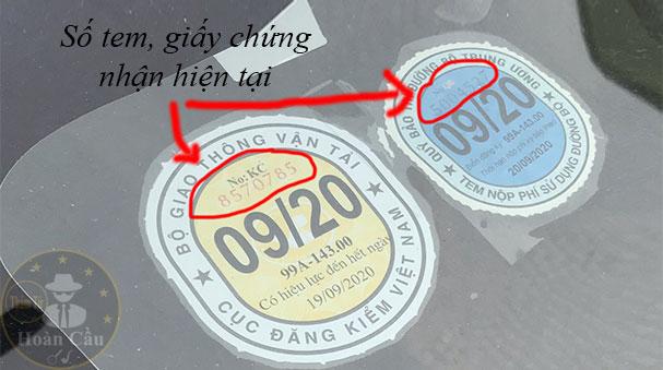 Số tem giấy chứng nhận hiện tại xe máy ô tô là gì, xem ở đâu?