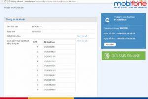 Cách kiểm tra cmnd đã đăng ký bao nhiêu số thuê bao mobifone