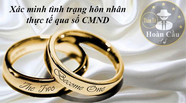 Cách kiểm tra tình trạng hôn nhân thực tế qua CMND online