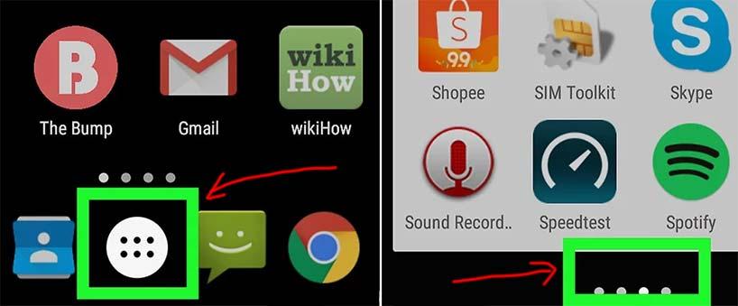 Cách mở ứng dụng không hiện trên màn hình Samsung Android