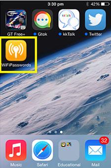 Cách xem lịch sử truy cập wifi trên iphone ios