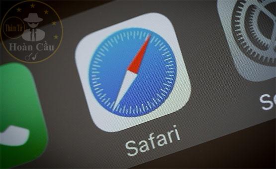 Dùng chung iCloud có xem được Safari không?