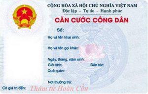Dịch vụ tra cứu thông tin cá nhân qua số CMND thẻ căn cước công dân