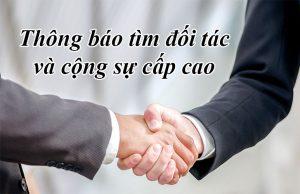 Tìm đối tác ngành thám tử tư và tất cả mãng kinh doanh trên toàn quốc.