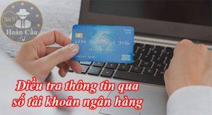 Dịch vụ điều tra tìm người qua số tài khoản ngân hàng lừa đảo