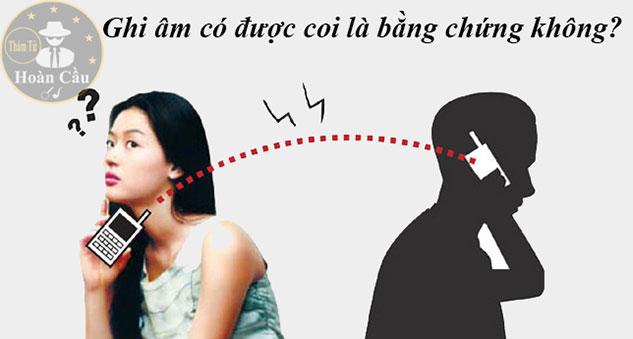 Ghi âm và tin nhắn có được coi là bằng chứng ngoại tình không?