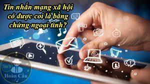 Ghi âm và tin nhắn zalo facebook có được coi là bằng chứng ngoại tình không?