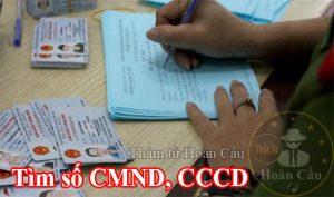 điều tra thông tin cá nhân qua CMND chứng minh thư