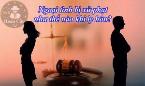 Vợ chồng ngoại tình có hậu quả pháp lý như thế nào khi ly hôn?